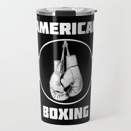 American Boxing Travel Mug