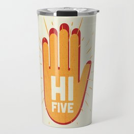 Hi five Travel Mug
