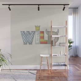 WHERE THE WILD TYPE IS… Wall Mural