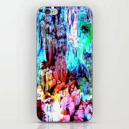 Cavern in Greece iPhone Skin