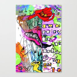 My dream sweeper is stuck in a dusty old subdimension, what's your excuse? Canvas Print