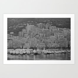 Daunting Port of Europe Art Print