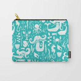 Under The Sea Aqua Carry-All Pouch