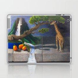 Still Life With Kumquats and Giraffe Laptop & iPad Skin