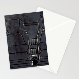 Rusty Mech Texture Stationery Cards