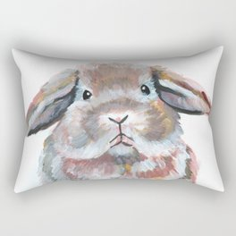 Radish the Rabbit Rectangular Pillow