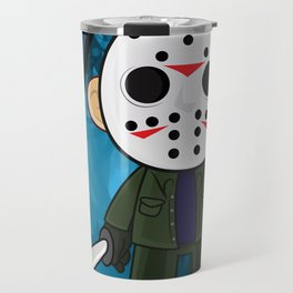 Lil Horror Classics Featuring Jason Vorhees from Friday the 13th Travel Mug