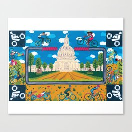 Bike ATX Canvas Print