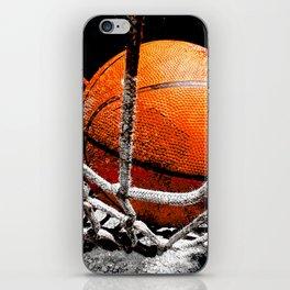 Basketball bounce version 1 iPhone Skin