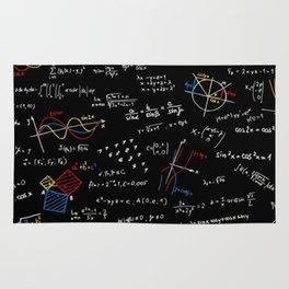 Math Equation Rug