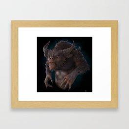 Hunchback Bob Framed Art Print