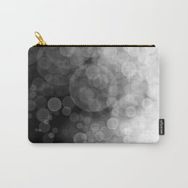 Black and White Spotted3 Carry-All Pouch