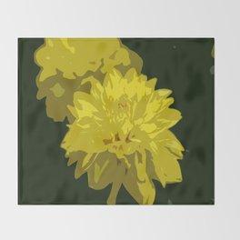 Mellow Yellow Throw Blanket