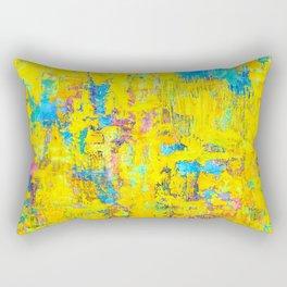 Wildthing - abstraktes Ölgemälde Rectangular Pillow
