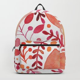Autumn leaves - orange and red Backpack