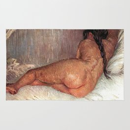 Van Gogh Nude Woman Reclining Seen From The Back Rug