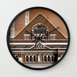 Famous in Nashville Wall Clock