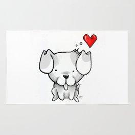 Cute Kawaii Puppy Dog Rug