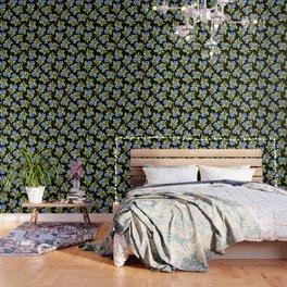 Wild Blueberry Sprigs Wallpaper