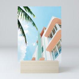 Miami Fresh Summer Day Mini Art Print