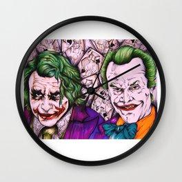 2 Jokers  Wall Clock