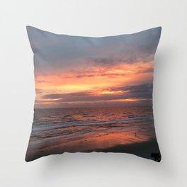 Daytona beach Throw Pillow