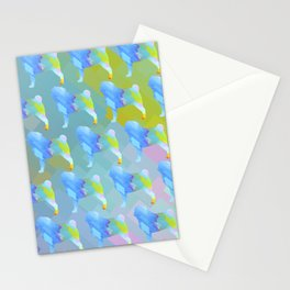 Pugs Pattern Stationery Cards