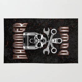 Hammer Down Rug