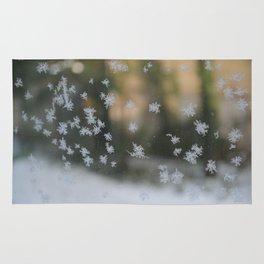 "It's frosty ""Ice Flower"" #1 #art #society6 Rug"