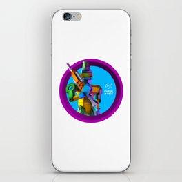 Empire of Code - punk iPhone Skin