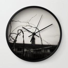 Abandoned Asylum Wall Clock