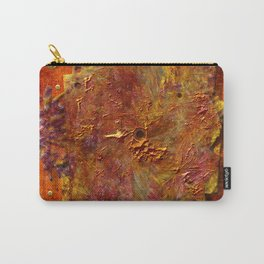 Abstract disc Carry-All Pouch