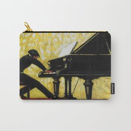 Vintage Piano Recital Illustration (1920) Carry-All Pouch