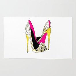 Fashion shoe art Rug