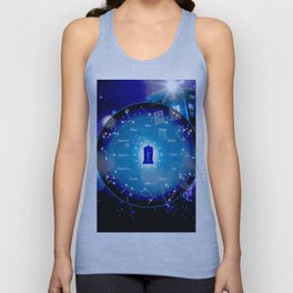 Tardis Horoscopes Unisex Tank Top