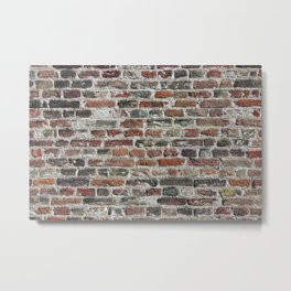 Colorful Bricks Background Metal Print