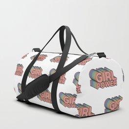 Girl Power grl pwr Retro Duffle Bag
