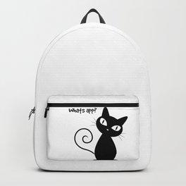 Whatsapp Cat Backpack