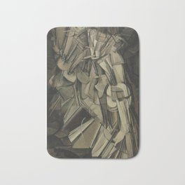 Marcel Duchamp - Nude Descending a Staircase, No. 2 Bath Mat