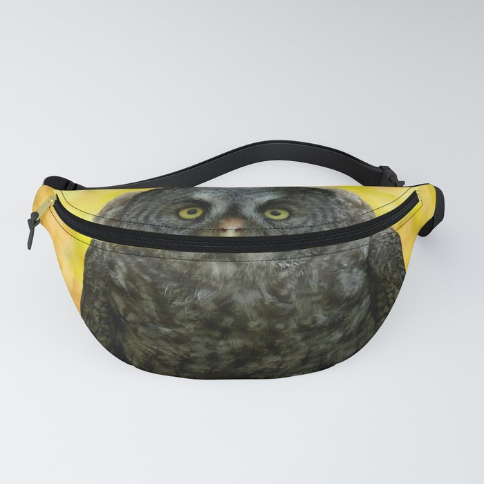 Owl Staring Contest Fanny Pack