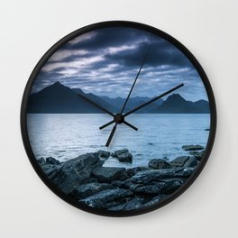 The Dark Cuillin II Wall Clock