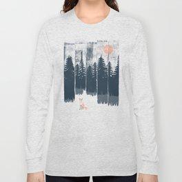 A Fox in the Wild... Long Sleeve T-shirt