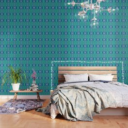 Boujee Boho Collection Green Purity Wallpaper