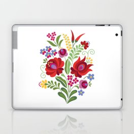 Hungarian Folk Design Red Peppers Laptop & iPad Skin