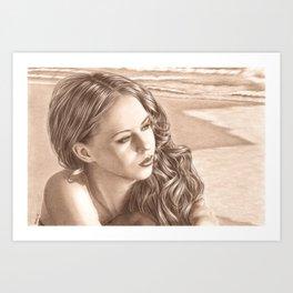 End of Summer Art Print