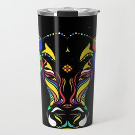 Cattle in the wind by #Bizzartino Travel Mug