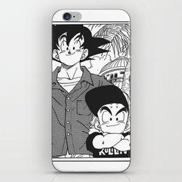 DBZ - Manga 8 iPhone Skin