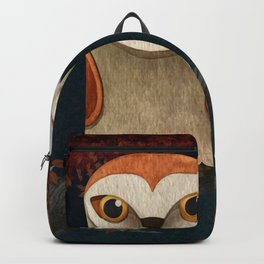 Deep in the Night, Owl Eyes Bright Backpack