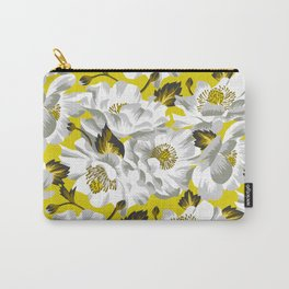 Mount Cook Lily - Yellow/White Carry-All Pouch