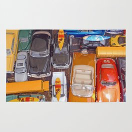 Toy Cars Rug